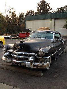 Cadillac : DeVille Base Coupe 2-Door 1953 Cadillac - http://www.legendaryfinds.com/cadillac-deville-base-coupe-2-door-1953-cadillac/