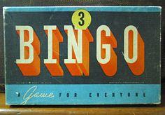 Bingo box.