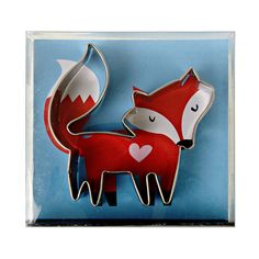 Buy Meri Meri - Little Fox Cookie Cutter online and save! Meri Meri – Little Fox Cookie Cutter A cute cookie cutter in the shape of a crafty fox to make a great decoration for a table. Just add piped icing t. Best Sugar Cookies, Fox Cookies, Cute Cookies, Cookies Et Biscuits, Yummy Cookies, Animal Cookie Cutters, Metal Cookie Cutters, Cookie Cutter Set, Design3000