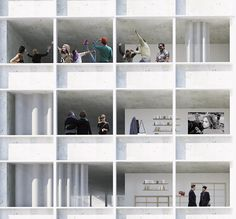 Bruther 19 Housing Units,  Paris 18e