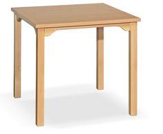 Holztisch Serie QAZ - rollstuhlunterfahrbar