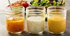 3 recipes for low-calorie salad dressings - Soßen - Salat Rezepte