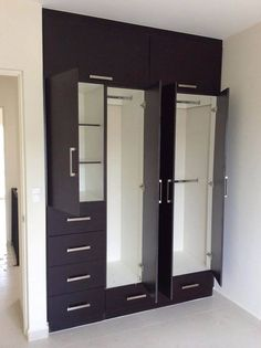 5 Door Wooden Designer Wardrobe Wood Project Almirah Designs