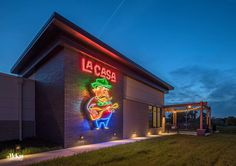 Outdoor Restaurant Lighting - Omaha, Nebraska