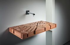 We have collected some really cool and unique bathroom sink designs for you to decorate your bathroom. Checkout 35 Unique Bathroom Sink Designs For Your Beautiful Bathroom. Unique Bathroom Sinks, Bathroom Sink Design, Wooden Bathroom, Bathroom Fixtures, Beautiful Bathrooms, Bathroom Designs, Bathroom Gadgets, Bathroom Ideas, Bathroom Pink
