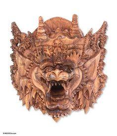 'Monkey II,' mask by NOVICA