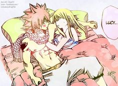 NaLu -- lovely fanfic inspired by this at https://www.fanfiction.net/s/10343202/5/Random-One-Shot-Requests