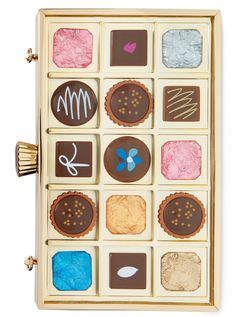 Currently craving this delectable Kate Spade chocolate box clutch.