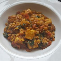 Paneer, split pea and spinach curry. Spice up your Bank Holiday! Recipe: http://wp.me/p4O5jd-un