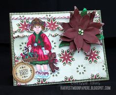 Crafter's Companion Official Blog Page: Paintbox Poppets Christmas