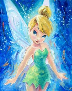 peter pan tinkerbell | http://artinsights.com/images/vcpscom/items/20130427125314.jpg