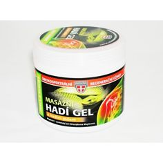 Masážní hadí gel s hadím jedem 600 ml Coffee Cans, Coconut Oil, Jar, Canning, Drinks, Drinking, Beverages, Drink, Home Canning