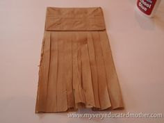 www.myveryeducatedmother.com Cutting up the bag Bird Life Cycle, Brown Paper, Holiday Fun, Art For Kids, Arts And Crafts, Two Piece Skirt Set, Nests, Bags, Earth