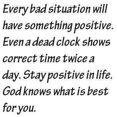 Keep your head up. God gives the toughest battles to His strongest soldiers!! This too shall pass.....