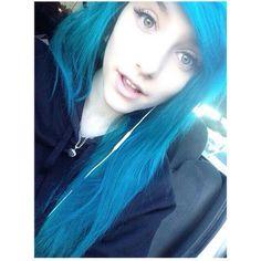 kain Emo nova blue hair