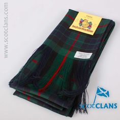 Gunn Modern Tartan Wool Sash. Free worldwide shipping available