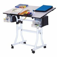 Martin Universal Design U-DS90W Weber Creation Station Melamine Deluxe Drafting Table by Martin Universal Design. $142.47. Martin Universal Design U-DS90W Artists who work in a creative space will appreciate the locking casters on the Martin Universal Creation Station Craft and Hobby Rolling Table. Move it easily to where the work needs to be done. The hard melamine surface is friendly on the hands, yet resists scuffs and stains, and our exclusive safety corne...