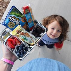 """This little kiddo has been put through the travel wringer this last little bit. Road trips are like second nature to him now and we've basically gotten our necessities and routine down pat. Give this tiny little tornado his """"favorite snacks"""" some apple juice a book and turn on Minions and he's good for hours! (Although I miss the days when he would actually nap in the car!) His current favorites? fresh berries BELVITA TEDDY GRAHAMS RITZ and OREOS! (My favorite part? That @Walmart has in…"""