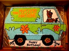 Homemade Scooby Doo Mystery Machine: My kids have the same birthday and they bot...  Homemade Scooby Doo Mystery Machine: My kids have the same birthday and they both were obsessed wit #Birthday #bot #doo #homemade #Kids #Machine #Mystery #scooby
