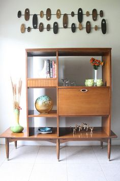 Mid Century Hooker Mainline Wall Unit