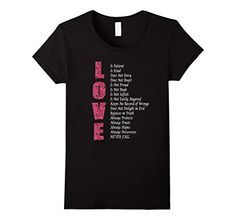 Love is Patient,Love is kind T-shirt Love Is Patient, Fashion Brands, How To Get, Female, Mens Tops, T Shirt, Stuff To Buy, Daenerys Targaryen, Black