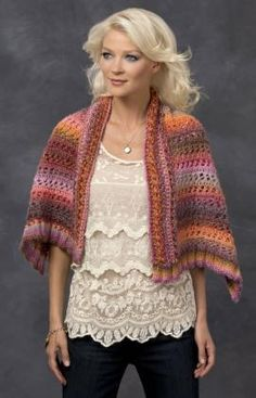 Channel your inner desert wanderer with free knit shawl patterns that capture the colors of the sunset.