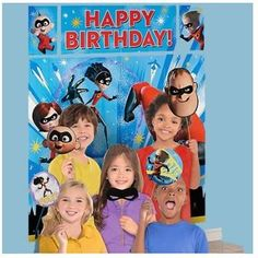 Incredibles 2 Airwalker Birthday Party Jumbo Balloon Decoration Prop