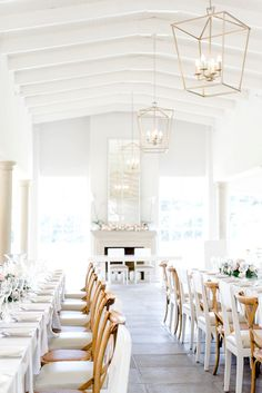 Sophisticated White Light Wedding South Africa