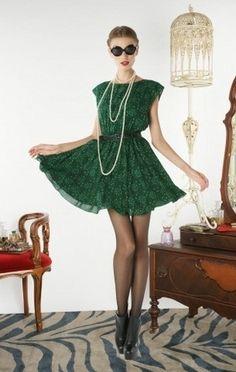 Alice + Olivia Matilda Boquet-Print Dress