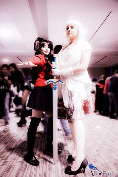 Cosplay Fate Stay Night / Fate Unlimited Blade Works UBW Cosplayers:  Saber: Rebecka de Alba [Misha cosplay]  Rin Thosaka: Dulce Félix [Zasamisan]   evento: Animecon 2016 [Centro de Usos Múltiples CUM, Obregón Sonora]  #sabercosplay #rinthosakacosplay #fatestaynightcosplay #fsncosplay #mishacosplay #zasamisan #animecon2016 #fateubwcosplay #fatestaynight #rincosplay #セイバー  #saberlilycosplay #typemooncosplay #フェイトステイナイト #遠坂凜  #thosakarin #cosplay #animecon  #DulceFelixFandub