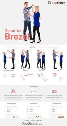 3 steps to the pretzel in the Disco Fox [Infografik]. Worship Dance, Dancing In The Moonlight, Silly Jokes, Exercise For Kids, Kids Workout, Dance Lessons, Yoga Art, Dance Moves, Wedding Humor