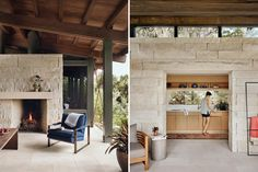 Canyon Preserve   Lake Flato Modern Small House Design, Modern Design, Lake Flato, Limestone Wall, Stone Houses, Prefab Homes, Modern Exterior, Maine House, Architectural Elements