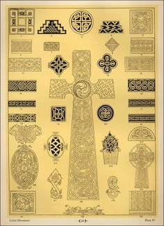 From a pattern book for gravestone carvers.