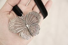 Butterfly Necklace by NeonAngelDesign on Etsy, $10.91
