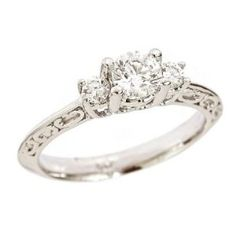 I want a simple engagement ring like this. Simply beautiful. :)