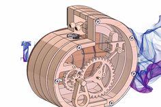 Wooden Coin Bank - STL - 3D CAD model - GrabCAD