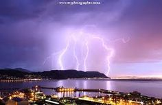 Image result for cape town lightning pics Pictures Of Lightning, Cape Town, Mother Nature, Northern Lights, Clouds, Travel, Outdoor, Image, Outdoors