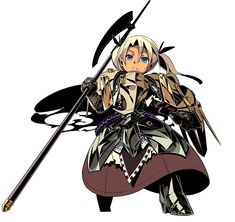 Hoplite Female from Etrian Odyssey III: The Drowned City