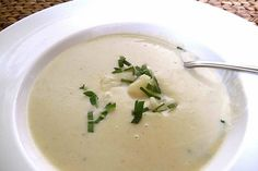 ... Cauliflower Soup on Pinterest | Cauliflower soup, Cheddar and Soups