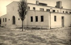 Theresienstadt, Czechoslovakia, 1945, crematorium located outside the camp.
