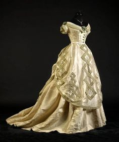 Evening dress ca. 1868 From the collection of Alexandre...
