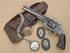 Seven Rivers Warrior John Wallace Olinger's Smith & Wesson Schofield Single Action Revolver