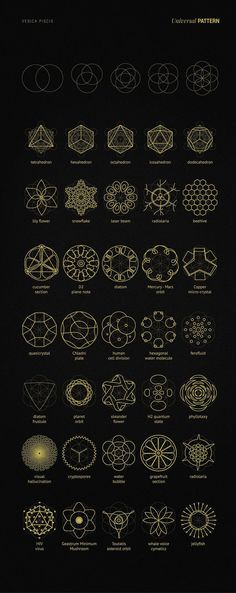 Tattoo ideas geometric symbols sacred geometry Ideas for 2019 Simbolos Tattoo, Tattoo Hals, Tech Tattoo, Shape Tattoo, Sacred Geometry Symbols, Sacred Geometry Tattoo, Fractal Geometry, Neue Tattoos, Body Art Tattoos