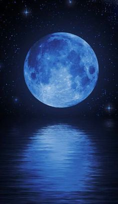 Color Poem, Shoot The Moon, Moon Pictures, Moon Magic, Blue Aesthetic, Stars And Moon, Belle Photo, Night Skies, Shades Of Blue