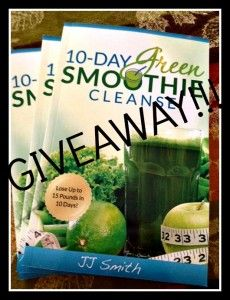 10-Day Green Smoothie Cleanse Giveaway!