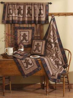 Gingerbread Tea Dyed Quilts | Choices Quilts Offers Gingerbread Tea Dyed  Quilts Handmade For You!