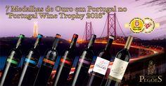 """Adega de Pegões arrecadou 7 Medalhas de Ouro no """"Portugal Wine Trophy 2016"""" com os vinhos: """"Adega de Pegões Alicante Bouschet"""" Tinto 2012, """"Adega de Pegões Aragonês"""" Tinto 2013, """"Adega de Pegões Syrah"""" Tinto 2013, """"Adega de Pegões Touriga Nacional"""" Tinto 2013, """"Adega de Pegões Cabernet Sauvignon"""" Tinto 2013, """"Fontanário de Pegões Reserva"""" Tinto 2011 e """"Rovisco Pais Premium"""" Tinto 2013. Saiba mais sobre os nossos vinhos em: http://cooppegoes.pt/pt/portefolio/"""