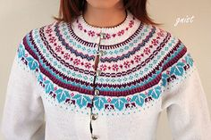 This pattern is only in Norwegian Crochet Top, Blouse, Sweaters, Pattern, Tops, Women, Fashion, Moda, Fashion Styles