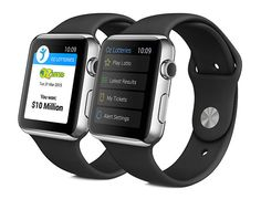 Oz Lotteries are creating the world's first Apple Watch lottery app!