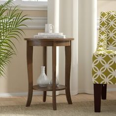 Andover Mills Haines End Table with Storage Table Top Color: Espresso, Table Base Color: White Faux Marble Tall End Tables, End Table Sets, End Tables With Storage, Table Storage, Side Tables, Round Storage Ottoman, Tufted Storage Ottoman, Cocktail Ottoman, Living Room Sets